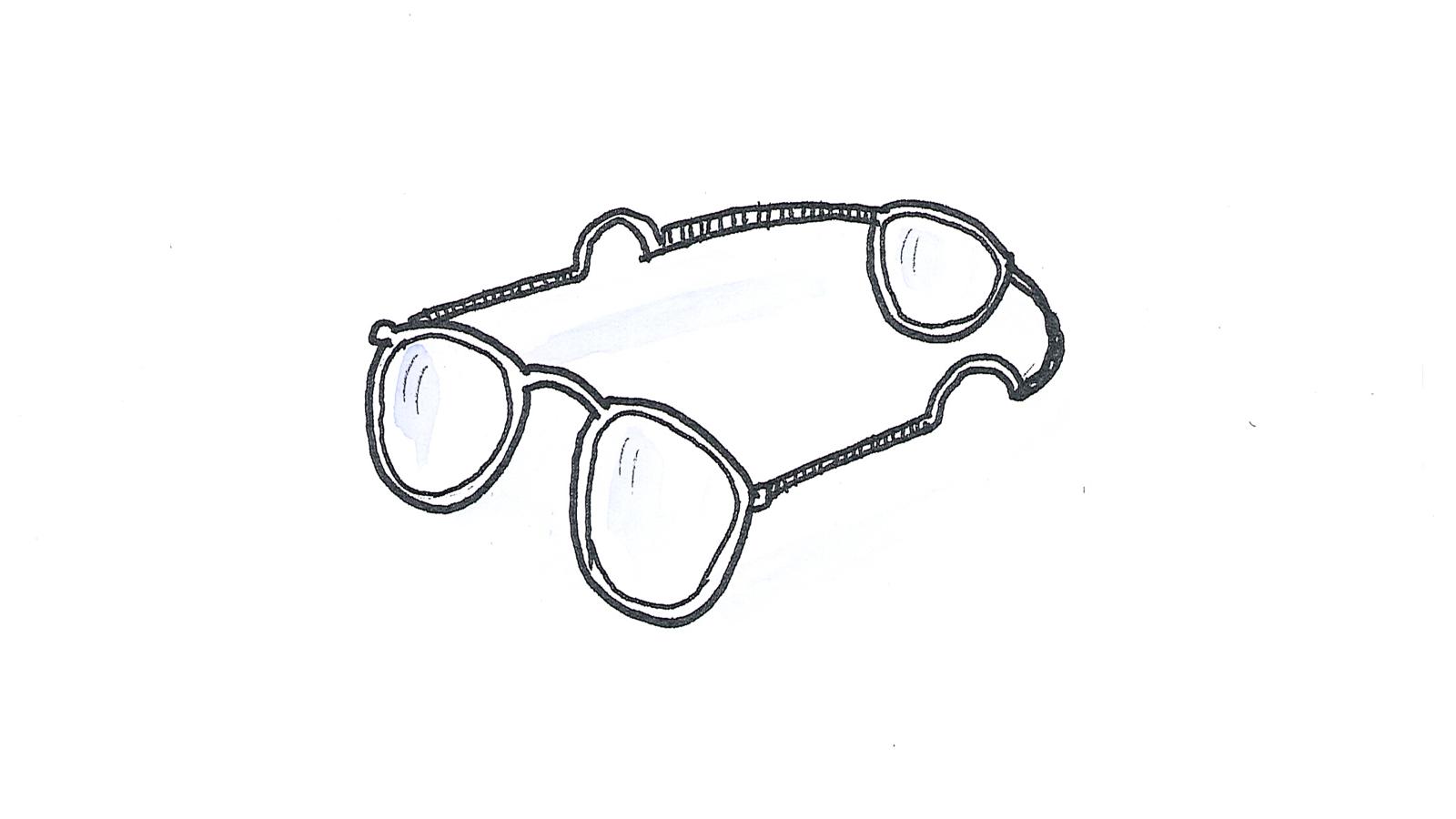 Wenn wir alle ein drittes Auge hätten: Brillen hätten drei Gläser