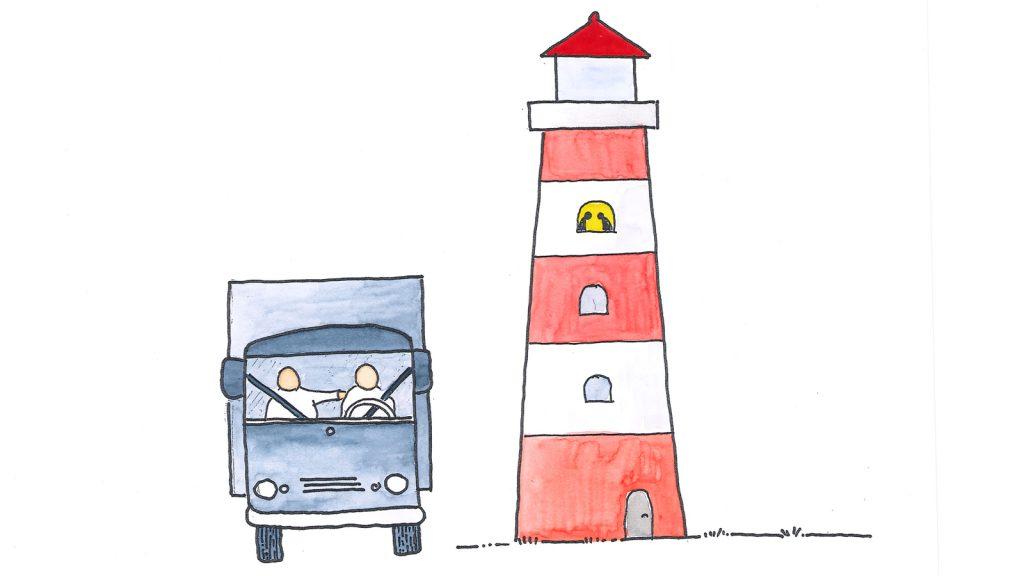 Selbst Fernfahrer und Leuchtturmwächter wären niemals allein.